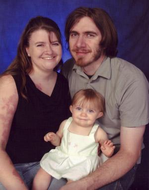 Amber, Adrianna, and Greg Reimer