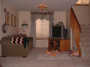New Living Room Arrangement