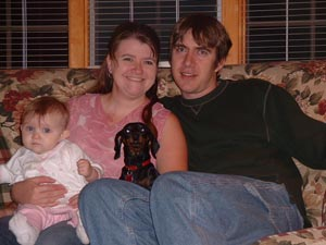 Amber, Greg, Adrianna, and Molly