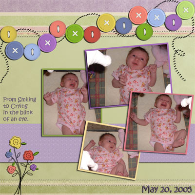 May 2005 Scrapbook Page