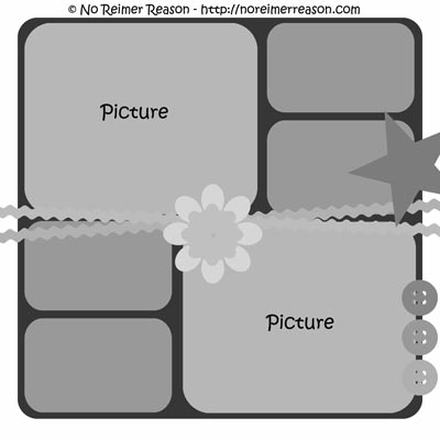 free digital scrapbook template 7 no reimer reason