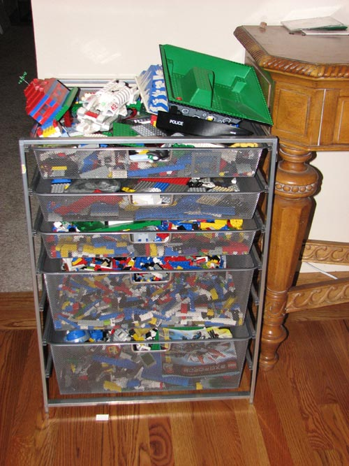 elfa Drawers for Legos