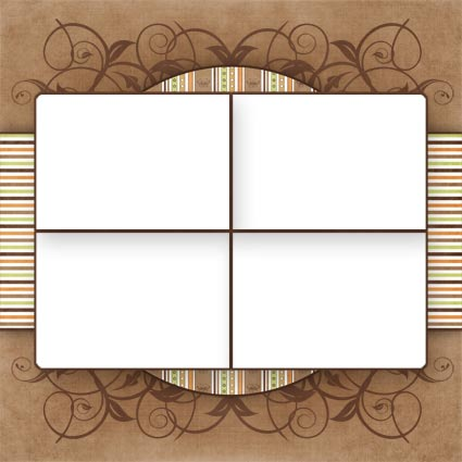 No Reimer Reason - Free Digital Scrapbook Quick Page - Click to be taken to download page