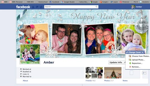 How to change your Facebook Timeline Cover Photo