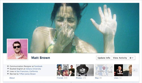Facebook Timeline Cover Example