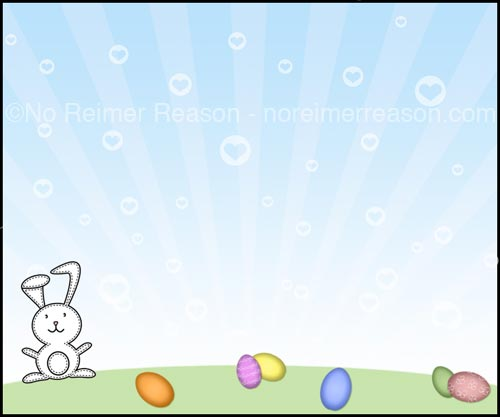 Free Easter Scavenger Hunt Card