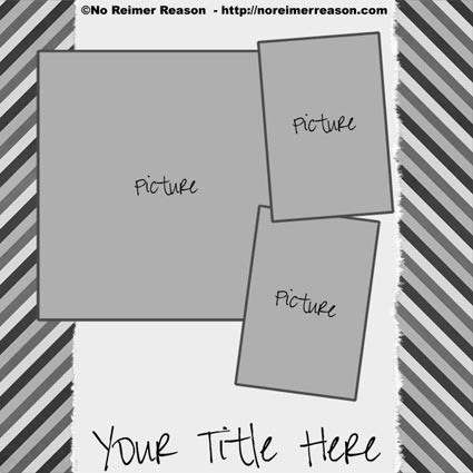 free digital scrapbook template 41 no reimer reason