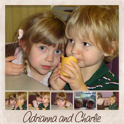 Adrianna and Charlie