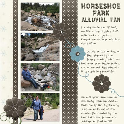 Horseshoe Park - Alluvial Fan
