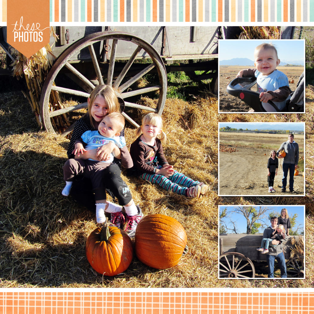 Fall Scrapbook Layout by No Reimer Reason