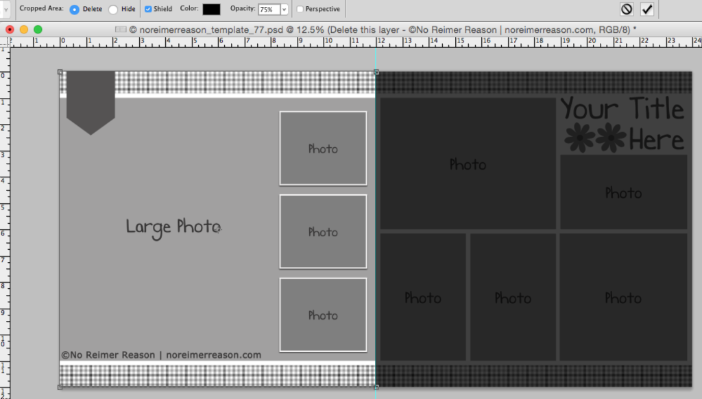 Crop Tool Screen Shot