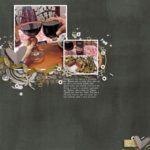 Scrapbook Layout by kendrawalter at the-lilypad.com