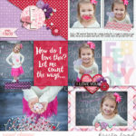 Scrapbook Layout by kristalund at Sweet Shoppe Designs