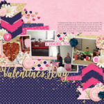 Scrapbook Layout by Sheana at Sweet Shoppe Designs