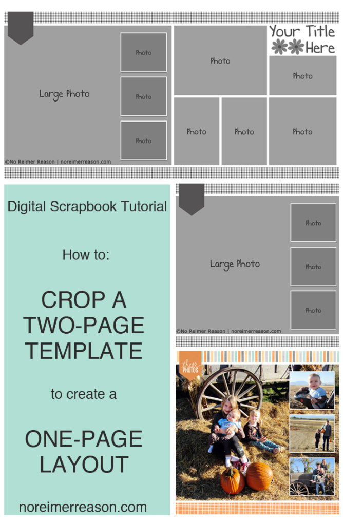 How to Turn a Two Page Template into a One Page Layout